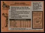 1975 Topps #257  Jean Hamel   Back Thumbnail