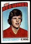 1976 Topps #212  Buster Harvey  Front Thumbnail