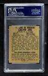 1948 Leaf #1  Joe DiMaggio  Back Thumbnail
