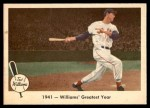 1959 Fleer #16   -  Ted Williams  Greatest Year Front Thumbnail