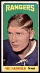 1964 Topps #62  Vic Hadfield  Front Thumbnail