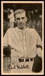 1937 Goudey Wide Pen  Carl Hubbell   Front Thumbnail