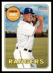 2018 Topps Heritage #400  Carlos Gomez  Front Thumbnail