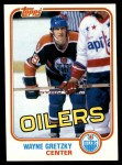 1981 Topps #16  Wayne Gretzky  Front Thumbnail