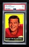 1961 Topps #79  Hugh McElhenny  Front Thumbnail