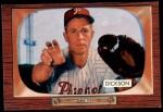 1955 Bowman #236  Murray Dickson  Front Thumbnail