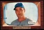 1955 Bowman #247  Dutch Leonard  Front Thumbnail
