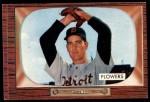 1955 Bowman #254  Bennett Flowers  Front Thumbnail