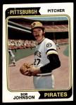 1974 Topps #269  Bob Johnson  Front Thumbnail