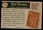 1955 Bowman #271  Bill Hooper  Back Thumbnail