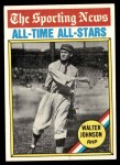 1976 Topps #349   -  Walter Johnson All-Time All-Stars Front Thumbnail