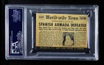 1954 Topps Scoop #113 xCOA  Spanish Armada Defeated Back Thumbnail