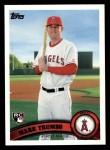 2011 Topps #57  Mark Trumbo  Front Thumbnail