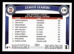 2011 Topps #134   -  Carlos Gonzalez / Joey Votto / Omar Infante NL Batting Leaders Back Thumbnail