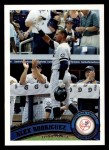 2011 Topps #155   -  Alex Rodriguez Record Breaker Front Thumbnail