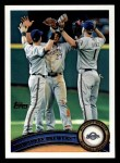 2011 Topps #187   Brewers Team Front Thumbnail