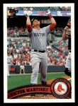 2011 Topps #218  Victor Martinez  Front Thumbnail