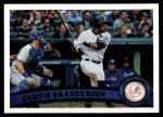 2011 Topps #433  Curtis Granderson  Front Thumbnail