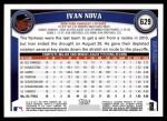 2011 Topps #629  Ivan Nova  Back Thumbnail