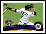 2011 Topps Update #162  Troy Tulowitzki  Front Thumbnail