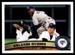 2011 Topps Update #185  Orlando Hudson  Front Thumbnail