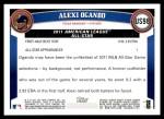 2011 Topps Update #98  Alexi Ogando  Back Thumbnail