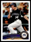 2011 Topps Update #82  Mark Ellis  Front Thumbnail