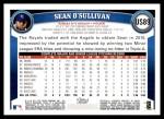 2011 Topps Update #89  Sean O'Sullivan  Back Thumbnail