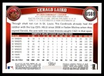 2011 Topps Update #69  Gerald Laird  Back Thumbnail