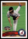 2011 Topps Update #113  Chris Perez  Front Thumbnail