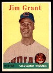 1958 Topps #394  Mudcat Grant  Front Thumbnail