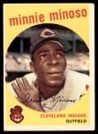 1959 Topps #80  Minnie Minoso  Front Thumbnail