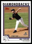 2004 Topps #317   -  Mike Gosling First Year Front Thumbnail