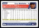2004 Topps #506  Tony Batista  Back Thumbnail