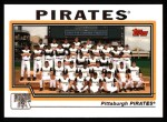 2004 Topps #660   Pittsburgh Pirates Team Front Thumbnail