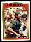 1972 Topps #692   -  Curt Blefary In Action Front Thumbnail