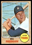 1968 Topps #470  Bill Freehan  Front Thumbnail