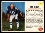 1962 Post #77  Bob Boyd  Front Thumbnail