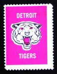 1962 Topps Stamps   Tigers Emblem Front Thumbnail
