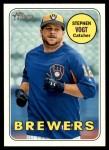 2018 Topps Heritage #49  Stephen Vogt  Front Thumbnail
