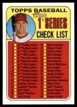 2018 Topps Heritage #57   -  Mike Trout Checklist Front Thumbnail