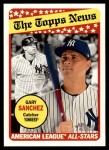 2018 Topps Heritage #179  Gary Sanchez  Front Thumbnail
