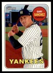 2018 Topps Heritage #191 A Gary Sanchez  Front Thumbnail