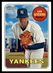 2018 Topps Heritage #303  Luis Severino  Front Thumbnail