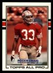 1989 Topps #8  Roger Craig  Front Thumbnail