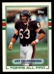 1989 Topps #59  Jay Hilgenberg  Front Thumbnail