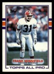 1989 Topps #139  Frank Minnifield  Front Thumbnail