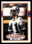 1989 Topps #191  Eugene Robinson  Front Thumbnail