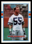 1989 Topps #192  Brian Bosworth  Front Thumbnail