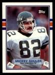 1989 Topps #230  Mickey Shuler  Front Thumbnail